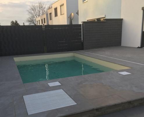 Gemauertes Pool